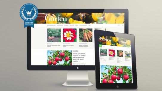 Screenshot Mein Schöner Garten Nach Dem Relaunch Der Webseite