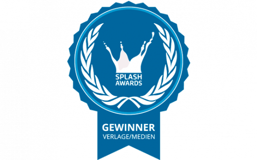 Badge Verlage/Medien Splash Awards