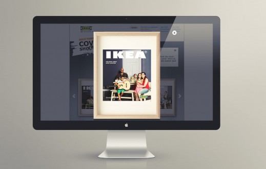 IKEA Covershooting AT Case study Bild