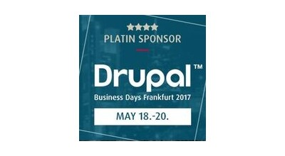 Platin Sponsor Badge der European Business Days Frankfurt 2017